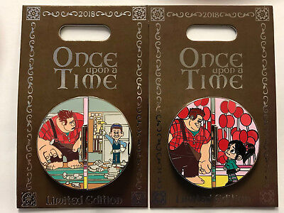 Disneyland Park Wreck It Ralph Once Upon a Time Disney LE Pin