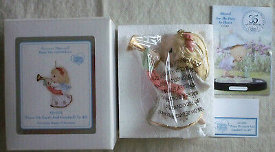 2013 Precious Moments Peace On Earth And Goodwill To All NIB Angel Orn 131002