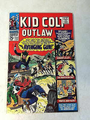 Kid Colt Outlaw #132 Western, 1967, Lieber, 68 Page Issue, Death Of Colt