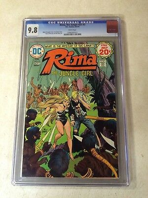 RIMA the JUNGLE GIRL #3 CGC 9.8 TOP GRADED, JUNGLE, KUBERT, WHITE PAGES, NM/MT