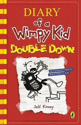 Diary of a wimpy kid: Double down by Jeff Kinney (Paperback / softback)