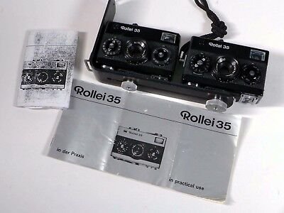 TWO 2x ROLLEI 35 film cameras – were used for Stereo 3D Photography - WM