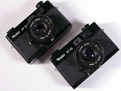 TWO 2x ROLLEI XF 35 film cameras – were used for Stereo 3D Photography - WM