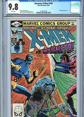 Uncanny X-Men #150 CGC 9.8 vs Magneto Wolverine Marvel Comics 1981