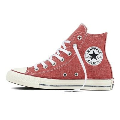 Converse Chucks Taylor All Star Hi Women's Sneakers Trainers 159538c Enamel Red