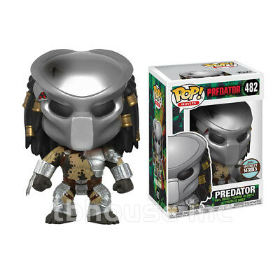 "4"" MASKED PREDATOR figure POP! MOVIES specialty series JUNGLE HUNTER funko 482"