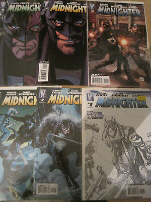 MIDNIGHTER : COMPLETE ISSUES 1,2,3,4,5,6 by GARTH ENNIS, FABRY et.WILDSTORM.2007
