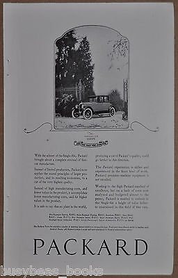 1922 PACKARD advertisement, Packard Single Six Coupe photo