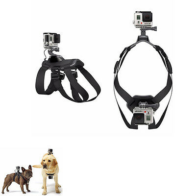 Dog Hound Pet Chest Strap Belt Mount Harness For GoPro Hero 1 2 3 3+ 4 5 SJ4000