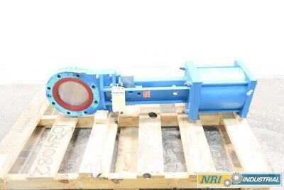 New Newcon 8In Pneumatic Steel Knife Gate Valve D568920
