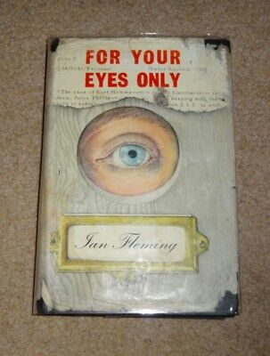 1St Edition - For Your Eyes Only - Ian Fleming - With Orig' Dust-Jacket - 1960
