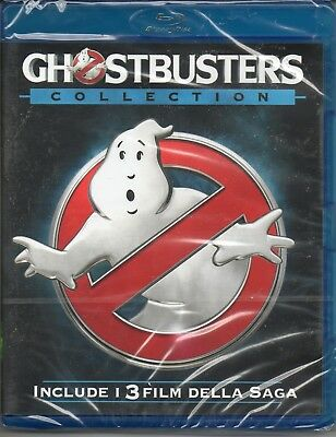 Ghostbuster collection - 3 film - blu-ray - nuovo