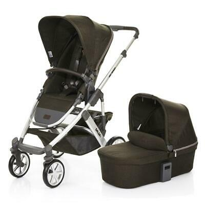 ABC Design Salsa 4 Pushchair & Carrycot (Leaf) - From Birth