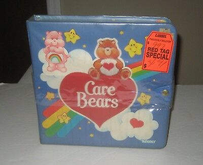 Kenner 1984 Care Bears Storybook Play Storage Case for Figures Brand New