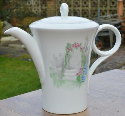 Vintage Shelley Bone China Art Deco Coffee Pot