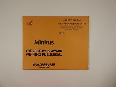Minkus All American Complete 1988 Regular Postal Issues, Stamp Album Pages