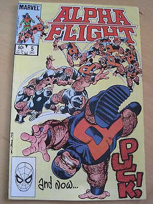 Alpha Flight  5.  By John Byrne. Great!  December, 1983. Marvel