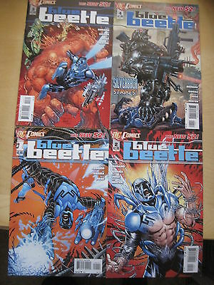 BLUE BEETLE   #s 1,2,3,4.  THE NEW 52 !     DC.  2012