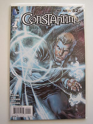 CONSTANTINE 1. 1st PRINT, By FAWKES & LEMIRE. HELLBLAZER. DC The NEW 52. 2012