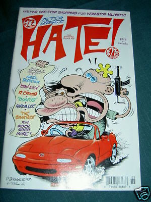 HATE  27. By PETER BAGGE. FANTAGRAPHICS  1997