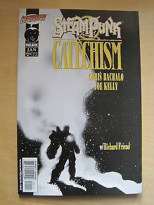 STEAMPUNK : CATECHISM Prologue. By BACHALO, KELLY & FRIEND. WS /CLIFFHANGER.2000