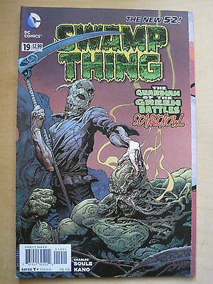 SWAMP THING  # 19  by  CHARLES SOULE.   1st PRINT. THE NEW 52. DC. 2013