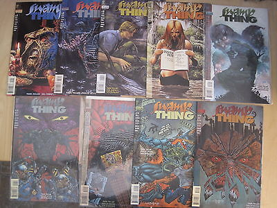 SWAMP THING : BUNDLE of 9 DIFFERENT ISSUES by MARK MILLAR. DC VERTIGO.1994