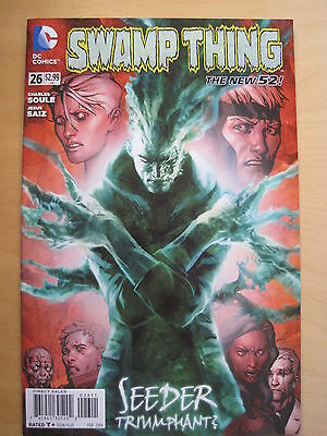 SWAMP THING  # 26  by CHARLES SOULE & JESUS SAIZ. 1st PRINT. THE NEW 52. DC.2014