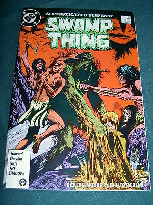 SWAMP THING  48.  CLASSIC by ALAN MOORE & JOHN TOTLEBEN. DC COMICS.1986