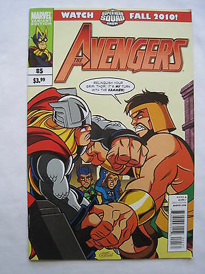 The AVENGERS  5 VARIANT Edition. By BRIAN MICHAEL BENDIS & Romita Jr.MARVEL.2010