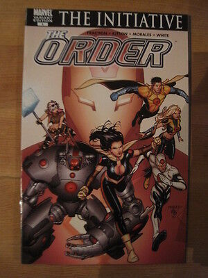 The Order 1. Variant Edition.the Initiative.by Matt Fraction, Kitson.marvel.2007