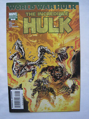 The Incredible HULK   # 111.  VARIANT EDITION.   MARVEL.  2007