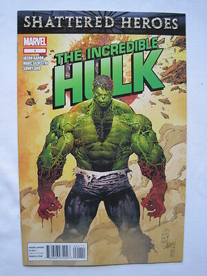 The Incredible HULK   #s  1,2,3.  By JASON AARON & MARC SILVESTRI. MARVEL. 2011