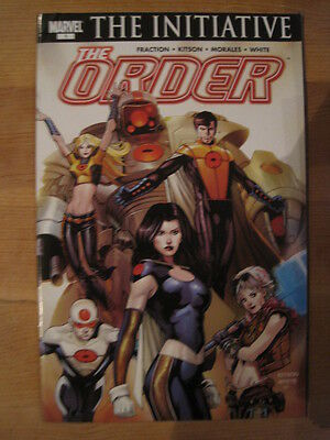 The Order 1.  The Initiative.by Matt Fraction, Kitson & Morales. Marvel.2007