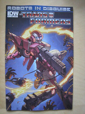 Transformers  # 11  Cover  B.   Idw. 2012