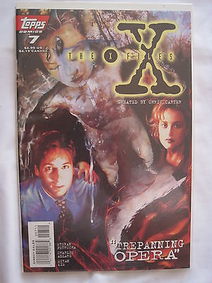 THE X FILES # 7. By PETRUCHA & ADLARD. MULDER. SCULLY. TOPPS 1995