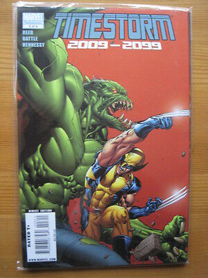 TIMESTORM 2009 - 2099  3 ( of 4 ). By REED & BATTLE. MARVEL 2009