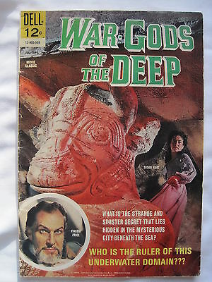 WAR GODS of the DEEP. DELL. FN. 1965