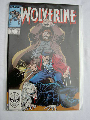 WOLVERINE   6.  By CHRIS CLAREMONT & John BUSCEMA. Marvel.1989