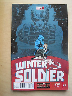 WINTER SOLDIER  18.  By LATOUR & KLEIN. 2013. MARVEL