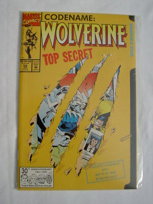 Wolverine # 50. Claw Ripped, Open Up  Cover.1992. Marc Silvestri. X-Men