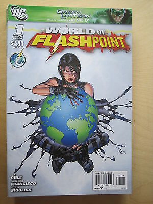 WORLD of FLASHPOINT  1.  FLASHPOINT.  DC .2011