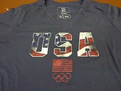 NIKE WOMEN'S OLYMPIC Team USA Star Out Of Many One T Shirt