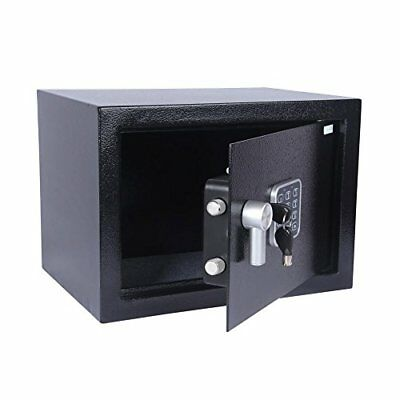 SereneLife Safe Electronic Compact Security Box with Mechanical Override