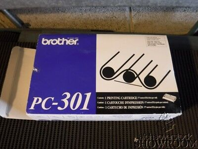 New Open Box Genuine OEM Brother PC-301 Thermal Fax Cartridge FAX 750 870MC