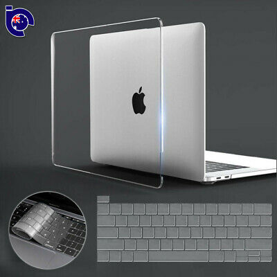 For 2016 Macbook Pro 13 15 Touch Bar Clear Crystal Full Body Case Keyboard Cover