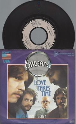 "7""  Orleans ‎– Love Takes Time"