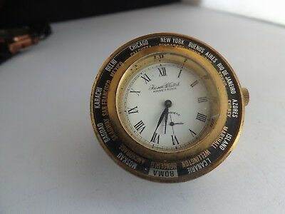 a fine vintage faiser travelling world clock