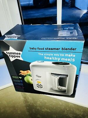 Tommee Tippee Baby Food Steamer Blender - Brand New - Not Working??