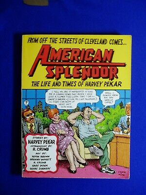American Splendor: The Life And Times Of Harvey Pekar. GN. 1st. Robert Crumb.